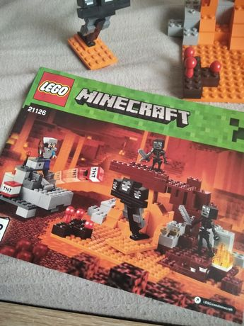 LEGO minecraft 21126 Wither Nether
