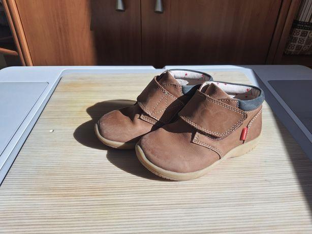 Ботиночки 26 р 16,5 см кожаные, mark&spenser с технологией walkmаtes