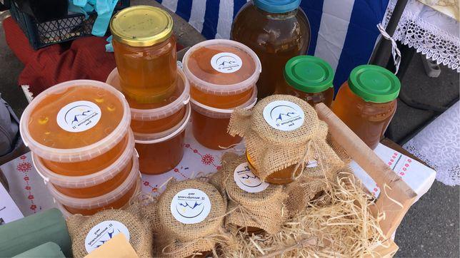 Чистый ароматный мед разнотравье лаванда 2021