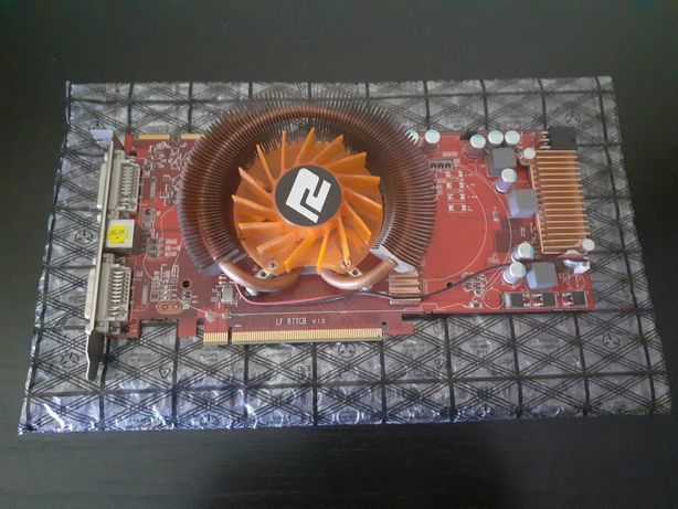 Placa Gráfica - ATI AX4850 1GBD3-PPH Radeon HD 4850 1GB 256-bit GDDR3