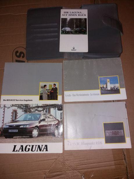 Oryginalna instrukcja obsługi Renault Laguna I + j. polski na cd