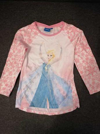 Bluzka Elsa 6 lat, rozm 122 dla dziewczynki nr 1