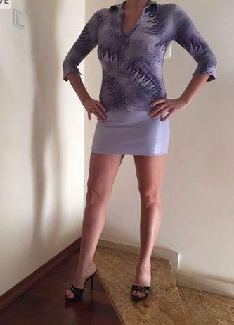 Zestaw bluzka plus spódnica roz M