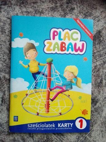Plac zabaw - sześciolatek- karty 1