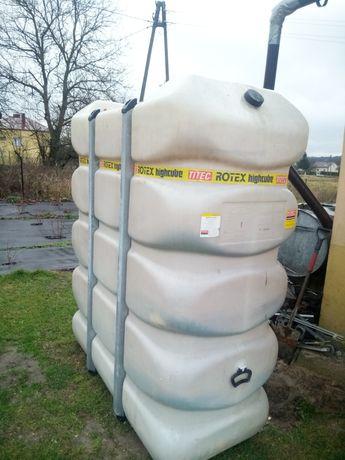 Zbiornik 2000 litrów po oleju opałowym lub zamienię na 2 mauzery