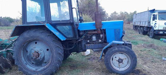 Трактор Мтз-82 в идеальном состоянии
