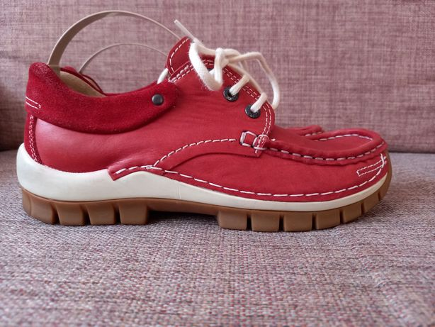 Wolky шкіряні туфлі кросівки мокасини кеди. 37 р. уст.фото