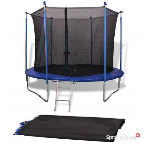 Siatka  do trampoliny 6ft 6 słupków 150cm