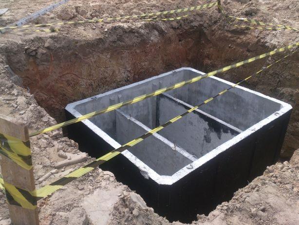 Zbiornik Betonowy Na gnojówkę 11m3 Wodę Deszczówkę Szambo Betonowe