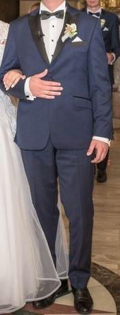 Garnitur męski ślub wesele ślubny Giacamo Conti TANIO okazja z dodatka