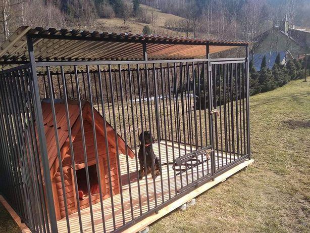 Bezpieczne schronienie dla psa,klatka,boks,zagroda,kojec dla psa