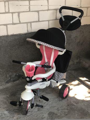 Трехколесный детский велосипед Smart Trike Deluxe 4 в 1
