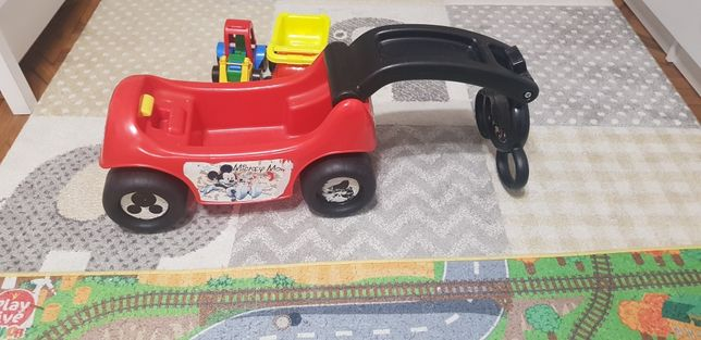 Jeździk autko, koparka ciężarówka