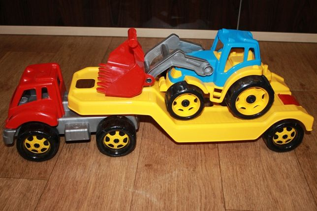 Игрушка Автовоз с трактором ТехноК