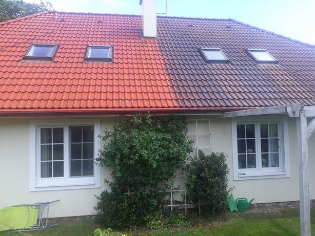 Mycie-czyszczenie dachow,elewacji,kostki brukowej