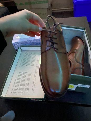 Коричневые туфли Ara Men