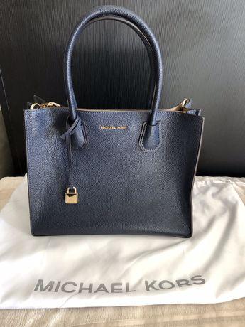 Mala senhora Michael Kors Mercer azul