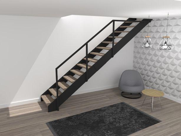 Projekt schodów / projekty schodów / wizualizacje 3D / DXF / DWG