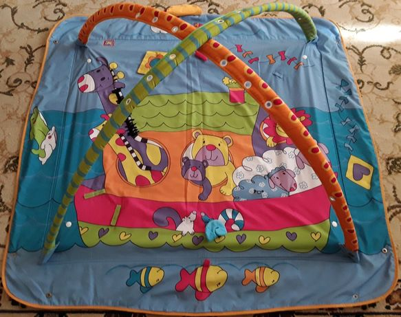 Развивающий коврик, палатка