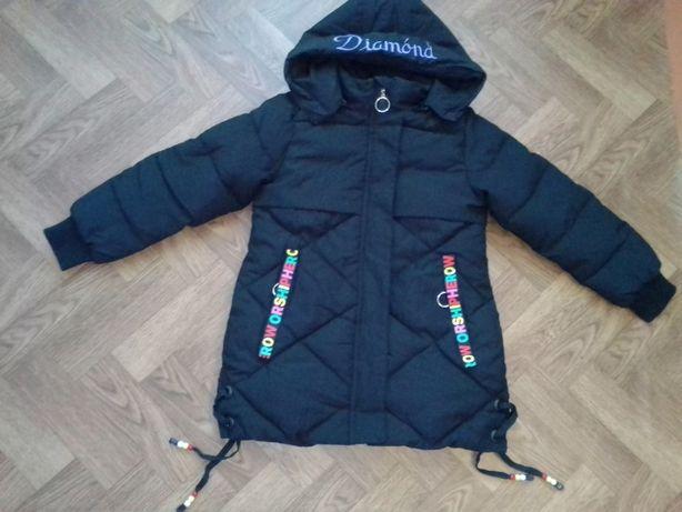 Куртка детская осень весна на синтепухе
