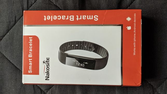 NAKOSITE Fit track, Smart band, Smartwatch - nowy
