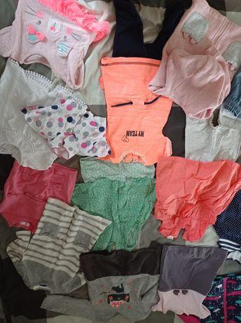 Ubranka dla dziewczynki 74