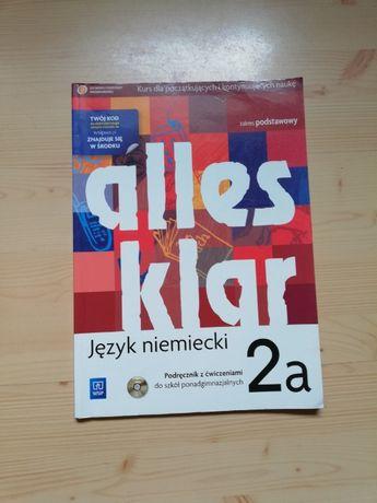 Podręcznik z ćwiczeniami Alles Klar 2a