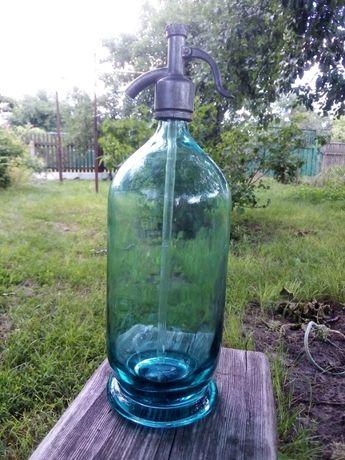 Советский сифон стеклянный для газированной воды
