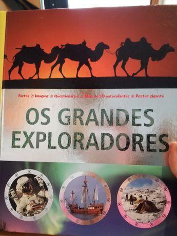 "Livro infantil juvenil ""Os grandes exploradores"""