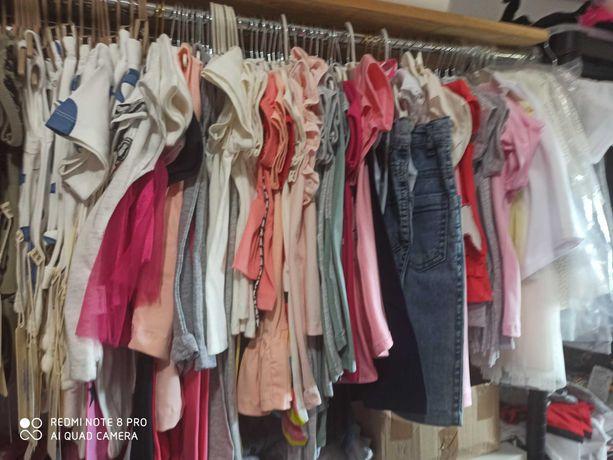 Ubrania dzieciece, likwidacja sklepu, ponad 360 szt