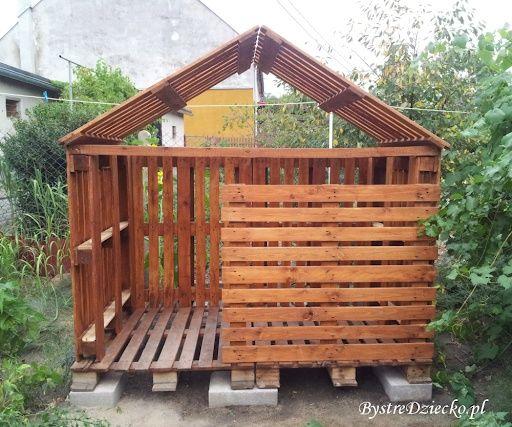 Domek ogrodowy dla dzieci drewniany plac zabaw