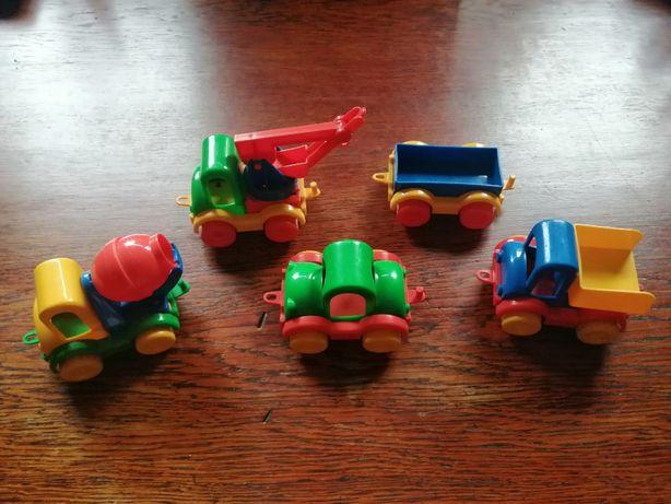 Zestaw samochodzików Wader dla dziecka