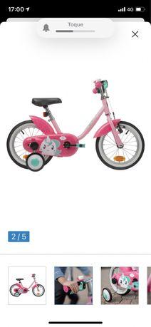 Bicicleta criança Decathlon