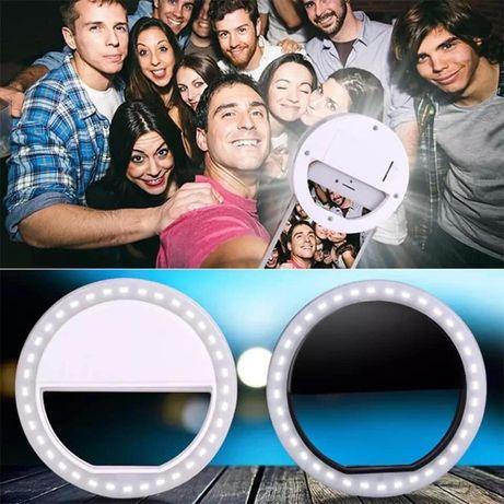 SELFIE RING LIGHT anel de luz universal de led para selfie