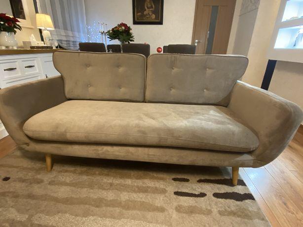 Sofa w stylu skandywanskim