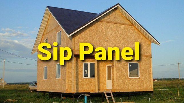 Построить дом из сип-панелей.Строительство дома.СИП-панели