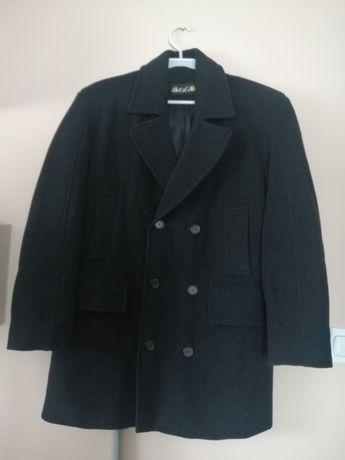 Płaszcz męski czarny ciepły rozmiar L