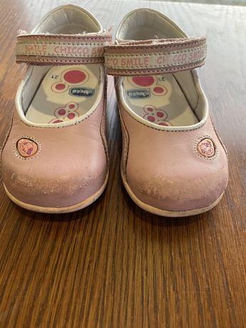 Sapatos chicco de menina 21