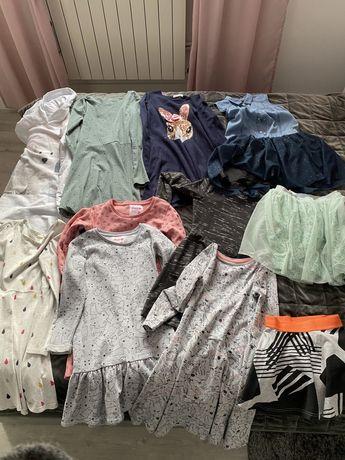 Sprzedam sukienki 134/140 H&M, Smyk, Lidl stan idealny
