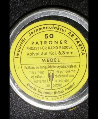 Naboje do osadzaka 6.3mm kal.10 i 25