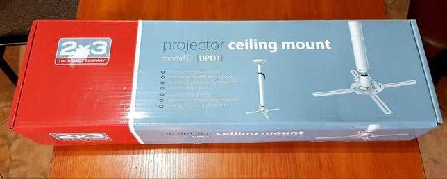 Uchwyt sufitowy do projektora 2x3 model UPD1