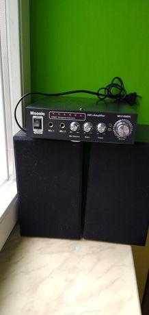 Wzmacniacz karaoke AUX