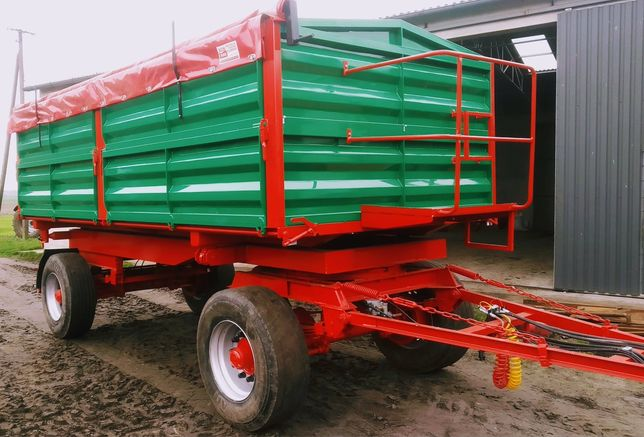 Przyczepy 6-18 ton