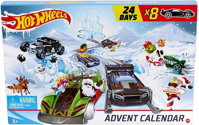 Набор Хот вилс адвент календарь 2020 Hot Wheels Advent Calendar 24 Day