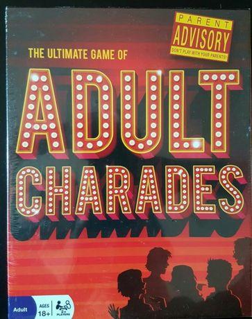 Adult charades szarady dla dorosłych gra karty kalambury 18stka