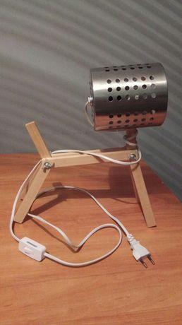 Lampka drewniana piesek, REKSIO.