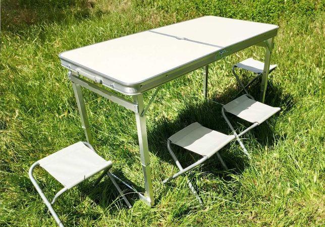 Стол для пикника усиленный (разные цвета) Стіл для пікніка посилений