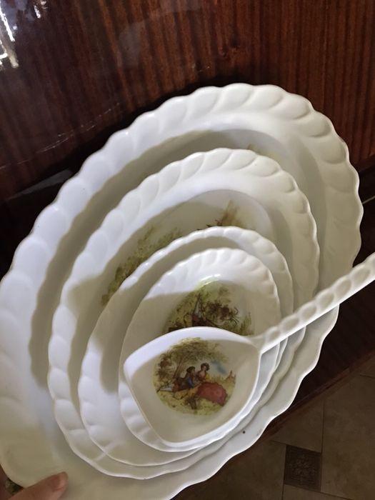 Набор пластиковых блюд Одеса - зображення 1
