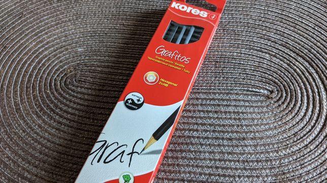 """Kores """"Grafitos"""" 12 чернографитовых карандашей"""