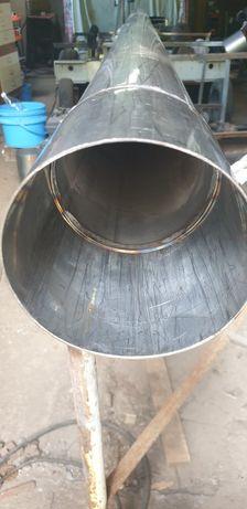 rura wkład kominowy nierdzewny kwasowo żarowo odporny fi-144mm. gr.2mm